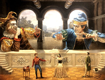 Art of Diplomacy  Limited Edition Print by Michael Cheval