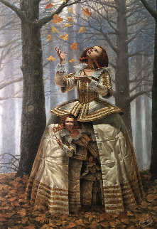 Enigma of Generations   Limited Edition Print by Michael Cheval