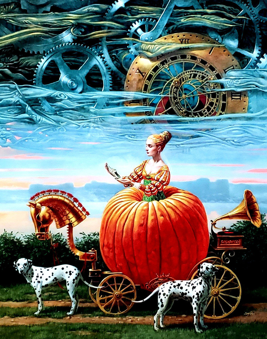 Time to Be a Queen 2016 Limited Edition Print by Michael Cheval