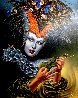Midsummer Chirr Limited Edition Print by Michael Cheval - 0