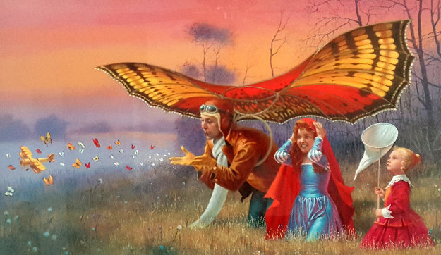 Promises of the Parting Summer 2016 Limited Edition Print by Michael Cheval