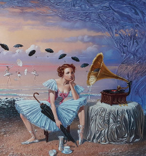 Melody of Rain 2015 Limited Edition Print - Michael Cheval