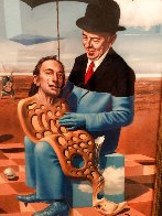 Lullaby of Uncle Magritte 2016 Limited Edition Print by Michael Cheval - 4