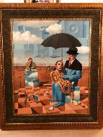 Lullaby of Uncle Magritte 2016 Limited Edition Print by Michael Cheval - 1