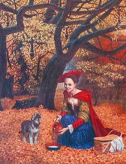 Flippant Benevolence 2917 Limited Edition Print - Michael Cheval
