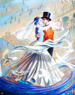Dance With the Wind 2019 Limited Edition Print - Michael Cheval