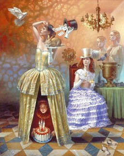 Magician's Birthday Limited Edition Print - Michael Cheval