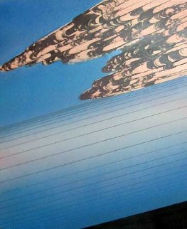 Situazione 1979 70x60 Original Painting - Ferdinando Chevrier