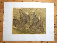 Two Boys on a Raft TP 1982 Limited Edition Print by Sandro Chia - 3