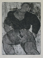 Untitled Lithograph 1987 Limited Edition Print by Sandro Chia - 0