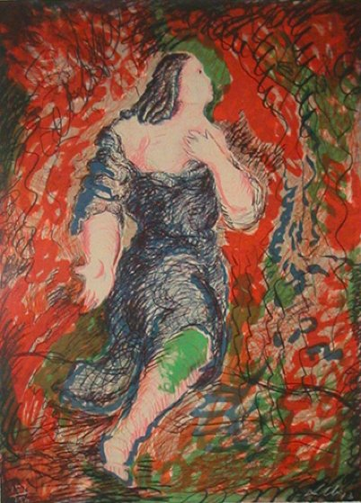 Il Trovatore 1984 Limited Edition Print by Sandro Chia