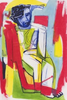 Untitled Aquatint 1995 Limited Edition Print by Sandro Chia