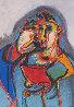 Untitled Aquatinte 1998 Limited Edition Print by Sandro Chia - 0