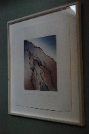 Voices from Song of Songs: My Dove in the Cleft of the Rocks 1999 Limited Edition Print by Judy Chicago - 2