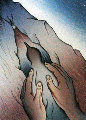 Voices from Song of Songs: My Dove in the Cleft of the Rocks 1999 Limited Edition Print - Judy Chicago