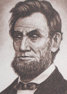 Lincoln 1985 Limited Edition Print by Charles Bragg (Chick Bragg)