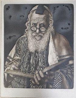 Rabbi Limited Edition Print by Charles Bragg (Chick Bragg)