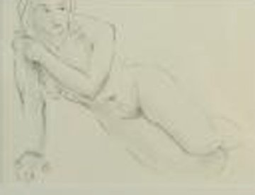Untitled Drawing 17x14 Drawing - Charles Bragg (Chick Bragg)
