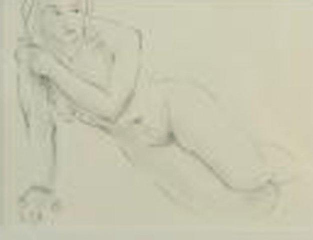 Untitled Drawing 17x14 Drawing by Charles Bragg (Chick Bragg)