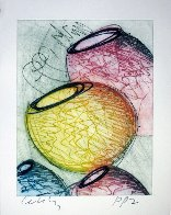 Four Vertical Baskets PP 1999 Limited Edition Print by Dale Chihuly - 1