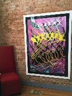 Untitled Painting 1994 64x48 Huge Original Painting by Dale Chihuly - 2