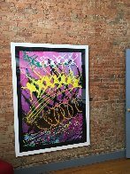 Untitled Painting 1994 64x48 Super Huge Original Painting by Dale Chihuly - 3