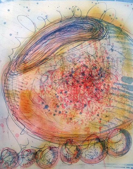 Macchia 1994 Limited Edition Print by Dale Chihuly