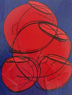 Red Hot Baskets  2002 Limited Edition Print by Dale Chihuly