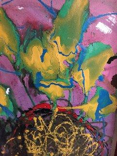 Grande Venetian 1996 46x34 Original Painting - Dale Chihuly