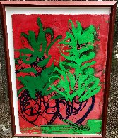 Hawaii Drawing 46x34 Original Painting by Dale Chihuly - 1