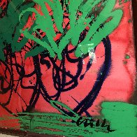 Hawaii Drawing 46x34 Original Painting by Dale Chihuly - 2