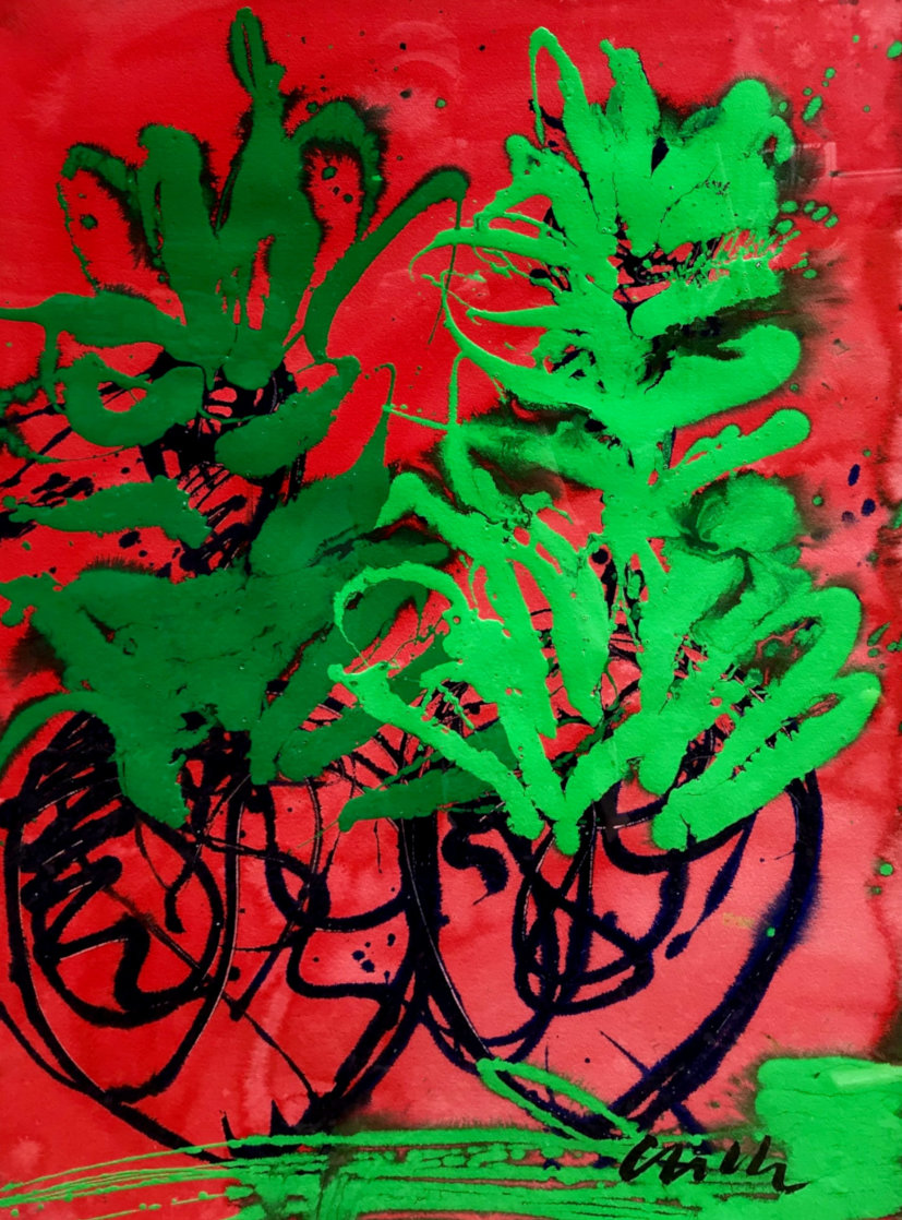 Hawaii 46x34 Super Huge Original Painting by Dale Chihuly