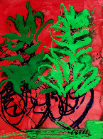 Hawaii Drawing 46x34 Original Painting by Dale Chihuly - 0