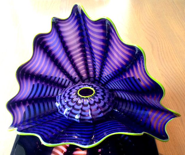 Violet Glass Sculpture: Persian Series 2005 15 in  Sculpture by Dale Chihuly