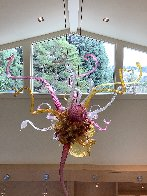 Fabulous - Untitled Glass Chandelier Sculpture 96 in Huge  Sculpture by Dale Chihuly - 9