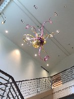 Fabulous - Untitled Glass Chandelier Sculpture 96 in Huge  Sculpture by Dale Chihuly - 12