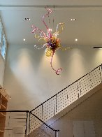 Fabulous - Untitled Glass Chandelier Sculpture 96 in Huge  Sculpture by Dale Chihuly - 13