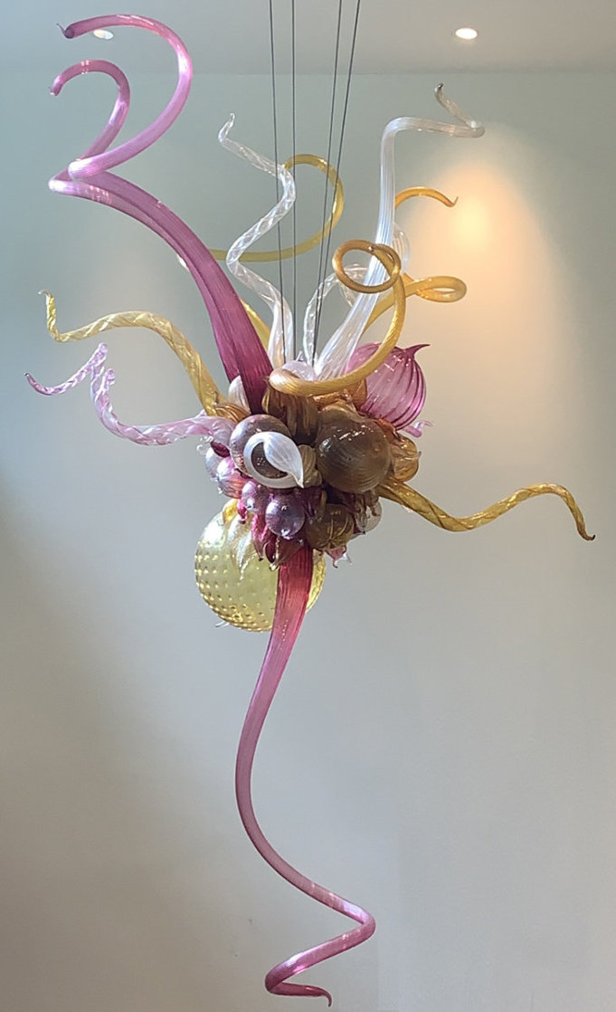 Fabulous - Untitled Glass Chandelier Sculpture 96 in Huge  Sculpture by Dale Chihuly