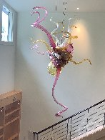 Fabulous - Untitled Glass Chandelier Sculpture 96 in Huge  Sculpture by Dale Chihuly - 8