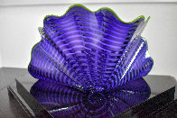 Violet Persian Pair Glass Sculpture 2012 12 in Sculpture by Dale Chihuly - 4