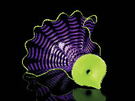 Violet Persian Pair Glass Sculpture 2012 12 in Sculpture by Dale Chihuly - 0