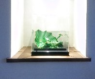 Celtic Emerald Persian Pair (Studio Edition Glass) 2007 Sculpture by Dale Chihuly - 4