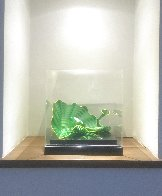 Celtic Emerald Persian Pair (Studio Edition Glass) 2007 Sculpture by Dale Chihuly - 5