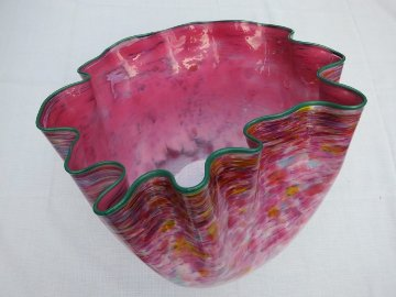 Untitled Early Glass Unique Sculpture 18 in 1984 Sculpture by Dale Chihuly