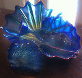 Untitled Glass Sculpture, Cobalt Persian Set of 6 Pieces 1999 Sculpture - Dale Chihuly