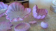 Pink Seaform 7 Pc Glass Sculpture Set 1995 Sculpture by Dale Chihuly - 3