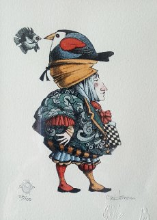 Small Talk 2004 Limited Edition Print by James Christensen
