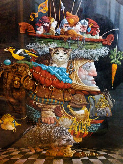 Burden of the Responsible Man 1990 Limited Edition Print by James Christensen