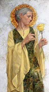 Yellow Rose 2009 Limited Edition Print - James Christensen