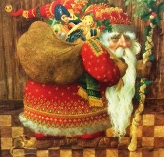 Olde World Santa 1986 Limited Edition Print by James Christensen